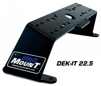 Dek-It 22.5° Fish Finder Mount
