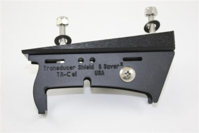 WG-1 Wedge to attach a Transducer Shield to a Set Back or Hole Shot Plate