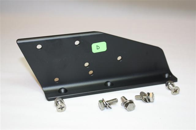 LB-DETW-6.8.10 - L Bracket to attach a Transducer Shield to a Detwiler Jack Plate