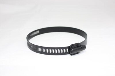 HDTS-B stainless black powder coated Transducer Strap