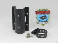 HW-Bracket to attach a Hydro Wave Speaker Box to a trolling motor shaft