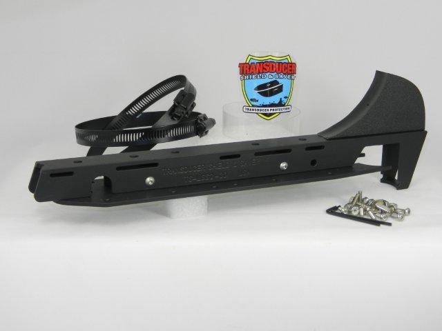 TS-LSS2-3D fits Lowrance LSS2 Structure Scan & Pod xDucer together usually on a Trolling Motor