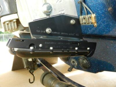 TS-LSS2-L fits Lowrance LSS2 Structure Scan Transducer on a Jack Plate