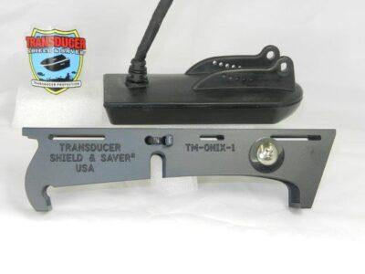 TM-ONIX-1 fits Humminbird Side Image Xducer XT 14 20 HDSI T or XT 14 74 HDSI T for Trolling Motor, Jack Plate or Set Back