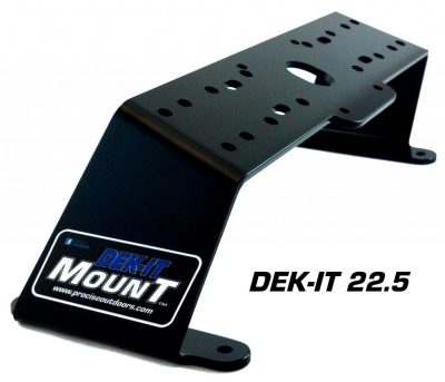 Dek-It 22.5° Fish Finder Mount