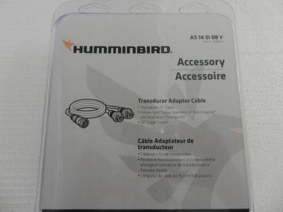Humminbird Y Cable # AS 14 SI DB Y for Onix