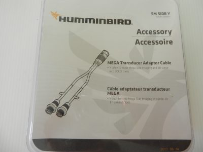 Humminbird Y Cable # 14 M SI DBY for Solix Units
