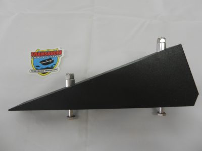 WG-3.5 Wedge used to attach TM-HX-1 Transducer Shield to a 90 degree Hole Shot Plate